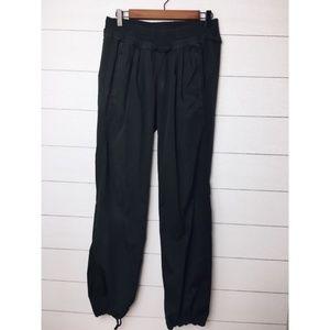 Lululemon Black Drawstring Ankle Studio Pants